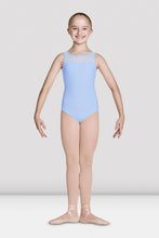 Load image into Gallery viewer, M463C Girls Mirella Open Back Sweetheart Tank Leotard