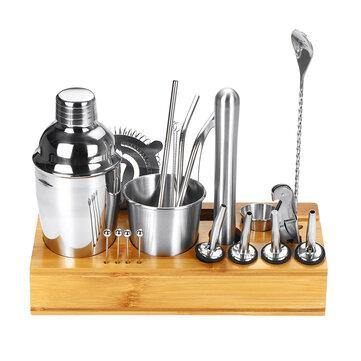 Cocktail Shaker 22 pcs Set professional - Giftexonline