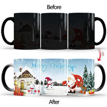 Load image into Gallery viewer, Merry Christmas Magic Mug Temperature Color Changing - Giftexonline