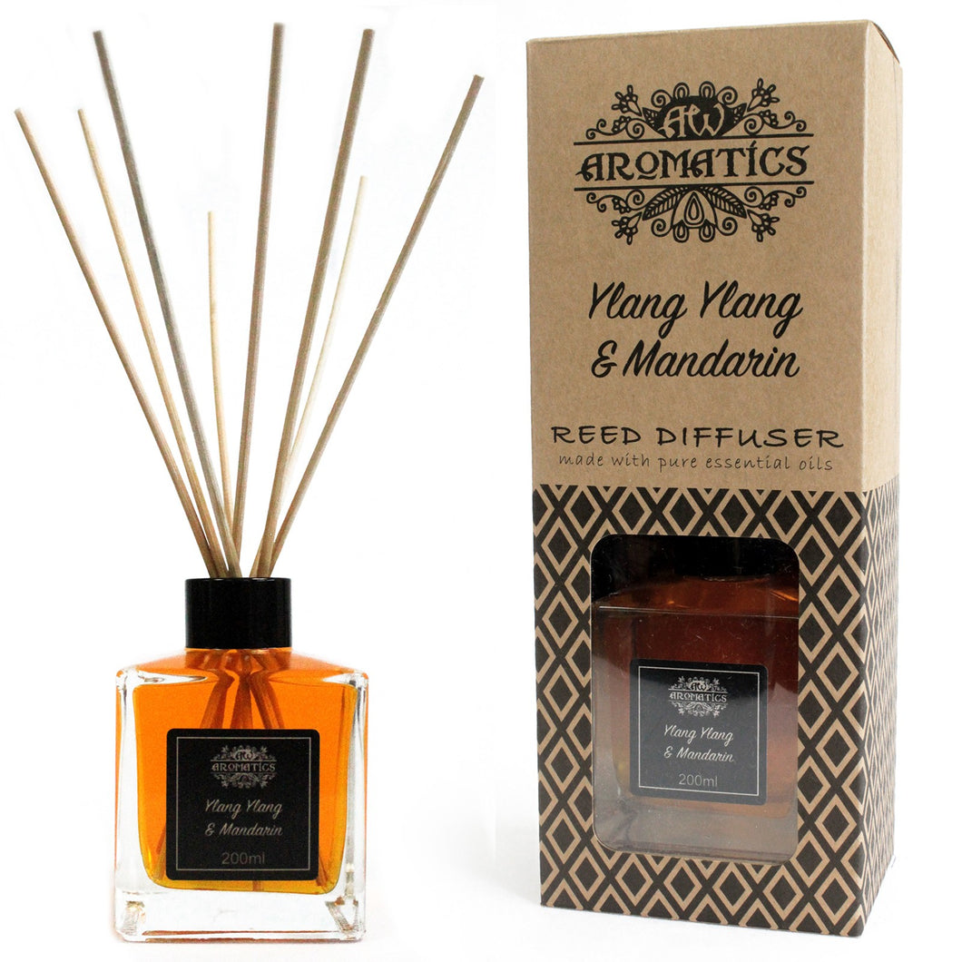 200ml Ylang Ylang  Mandarin Essential Oil Reed Diffuser