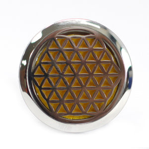 Car Diffuser Kit - Flower of Life - 30mm