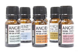 10ml Aromatherapy Car Blend - Travel Ease