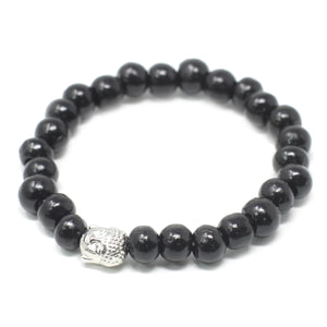 Darkwood Beads & Buddah Bangle