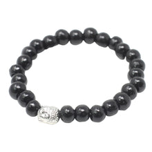 Load image into Gallery viewer, Darkwood Beads & Buddah Bangle
