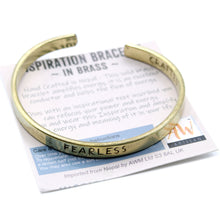 Load image into Gallery viewer, Inspiration Bracelet - Brass Selection
