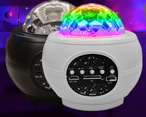 LED Laser Colorful  With Bluetooth Music Speaker