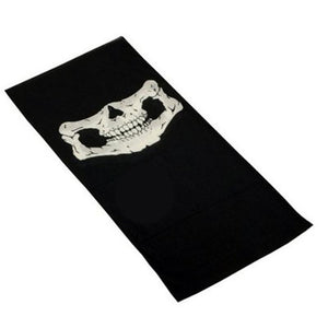 Great looking Skeleton Face Mask Scarf