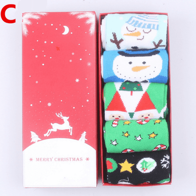Christmas gift boxed socks - Giftexonline