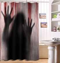 Load image into Gallery viewer, 3D Printed Halloween Bathroom Curtains