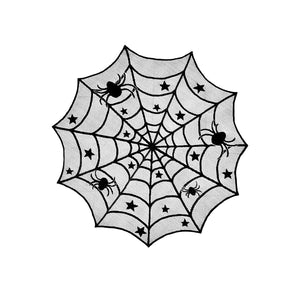 Ultra scary spider with matching table cloth( products sold individual)