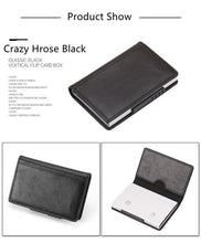 Load image into Gallery viewer, Fashion Men Women Credit Card Wallet Metal