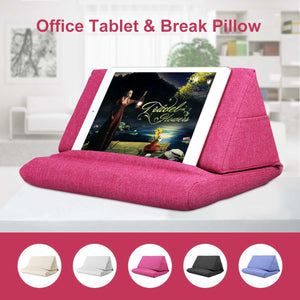 Relax anywhere with this multi-functional soft pillow