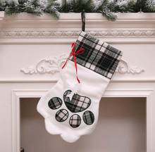 Load image into Gallery viewer, Dog paw Christmas stocking - Giftexonline