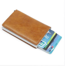 Load image into Gallery viewer, Metal Card Holder RFID Aluminium Alloy
