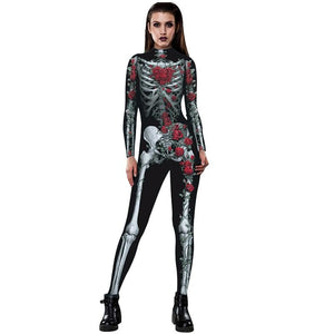 3D Skull Halloween clothes