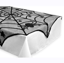 Load image into Gallery viewer, Ultra scary spider with matching table cloth( products sold individual)