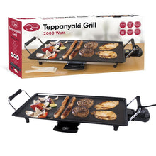 Load image into Gallery viewer, Non-Stick Electric Teppanyaki Table Top Grill