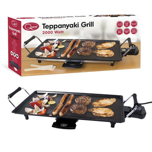 Non-Stick Electric Teppanyaki Table Top Grill
