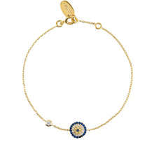 Load image into Gallery viewer, Evil Eye Bracelet Gold