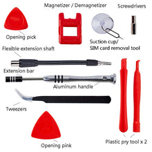Load image into Gallery viewer, Magnetic screwdriver repair set (110 pc) for electronics and furniture assembly