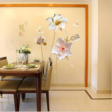 Load image into Gallery viewer, Flower 3D Wallpaper Wall Stickers Decor - Giftexonline