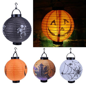 Halloween decorated LED Chinese garden effect lights