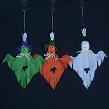 Load image into Gallery viewer, Scary Hanging Ghost Craft For Halloween