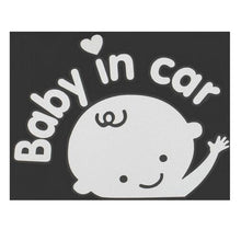 Load image into Gallery viewer, Baby in car sticker - Giftexonline