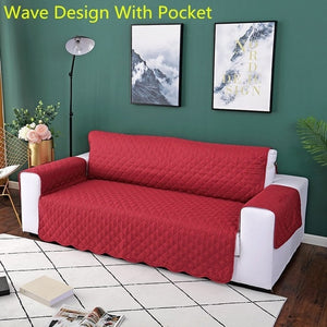 Great looking resistant sofa cover protector