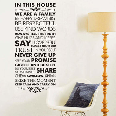 Classic  family wall sticker - Giftexonline