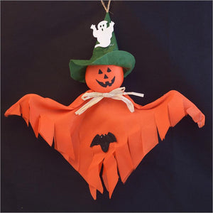 Scary Hanging Ghost Craft For Halloween