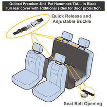 Load image into Gallery viewer, Premium  Heavy Duty Pet Seat Cover