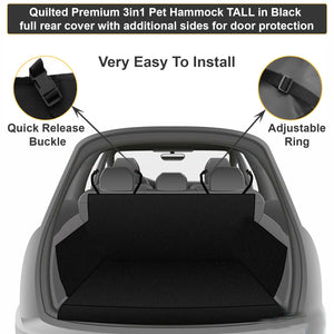 Premium  Heavy Duty Pet Seat Cover