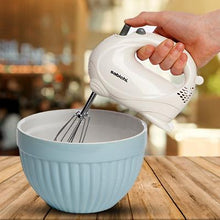 Load image into Gallery viewer, White Gloss 5 Speed Hand Mixer 120W