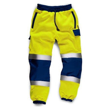 Load image into Gallery viewer, Hi Vis Joggers slim fit with Cargo Pockets - Giftexonline