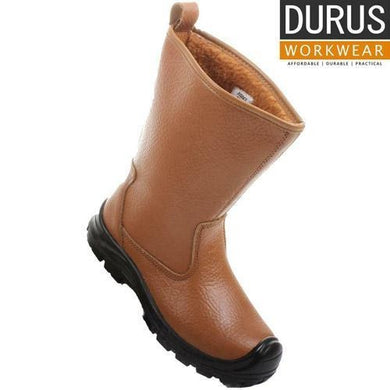 Durus Workwear Steel Toe Cap Fur Lined Rigger Boot SBU01 - Giftexonline