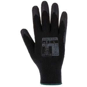 No slip dry fit Grip Gloves - 12 Pack