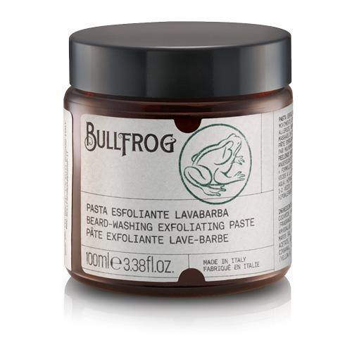 Beard-washing exfoliating paste -Bullfrog-