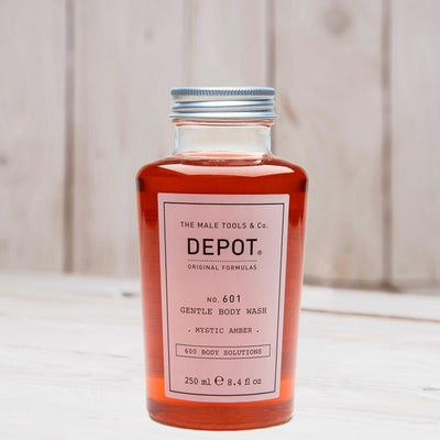 Depot Gentle Body Wash -mystic amber- No.601 250ml - barberwebshop