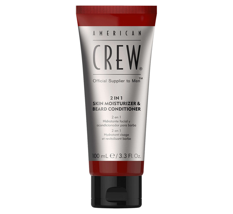 American Crew 2-in-1 Skin Moisturizer en Beard Conditioner 100ml
