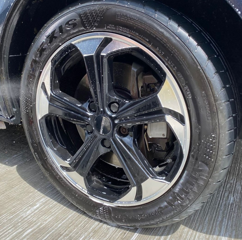 Centre bore of the VW T6 Alloy Wheels for your van or campervan