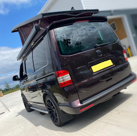 T5 Awning Rail for camping with campervan