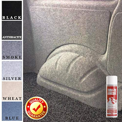 4 Way Stretch Campervan Lining Carpet - Wildworx Custom Van Accessories