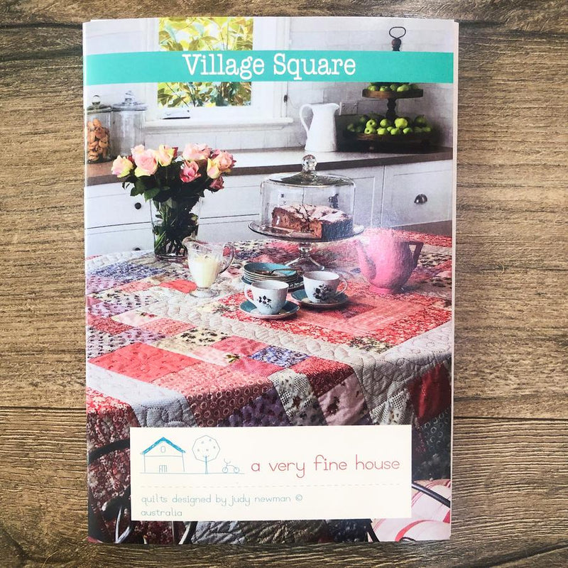 Village Square Pattern - Judy Newman