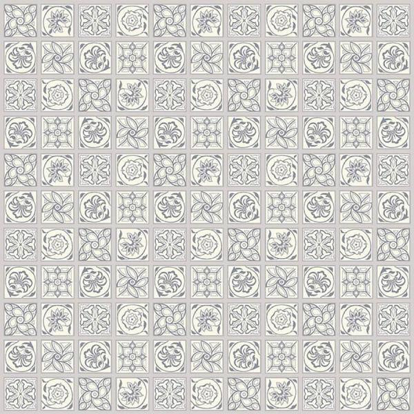 Liberty Cotton - Grey Geometric