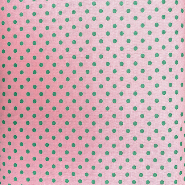 Green Spot on Pink