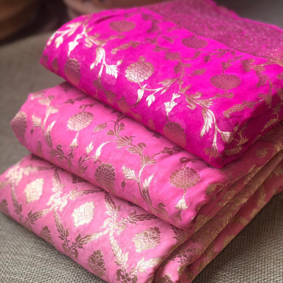 Difference between Georgette, Chiffon, and Crepe Silk Fabrics
