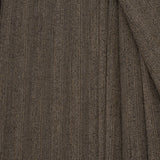 Striped Brown Suiting Fabric 214Woven