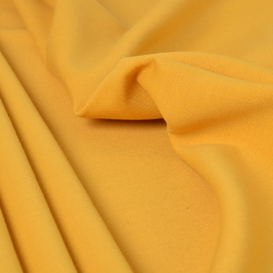 Yellow Doublewave Stretch Fabric 3298Woven