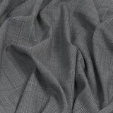 Black / White Prince of Wales Check 1066 - Fabrics4Fashion